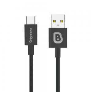 Cable de Carga USB 1M en Silicona 2.4A Carga Rápida Tipo C / BSC-T100C TIPO C