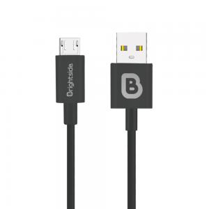 Cable de Carga USB 1M en Silicona 2.4A Carga Rápida / BSC-T100M Micro USB