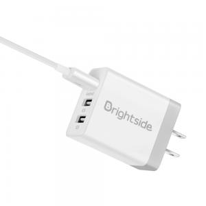 Adaptador 3 USB + Cable Lightning Iphone / BSCH-I3B + T100L